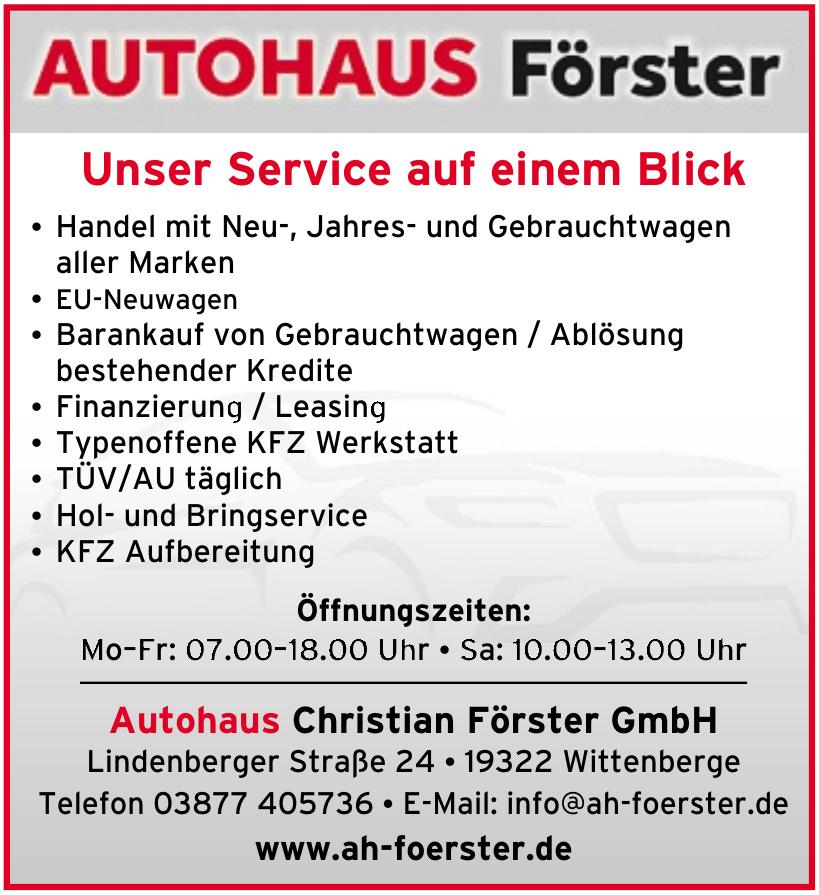 Autohaus Christian Förster GmbH