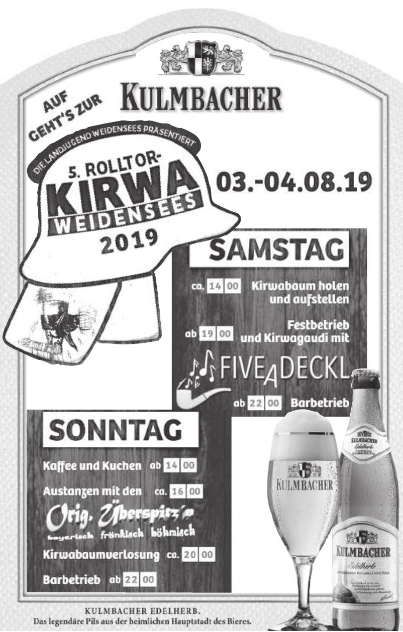 5. Rolltorkirwa in Weidensees 2019