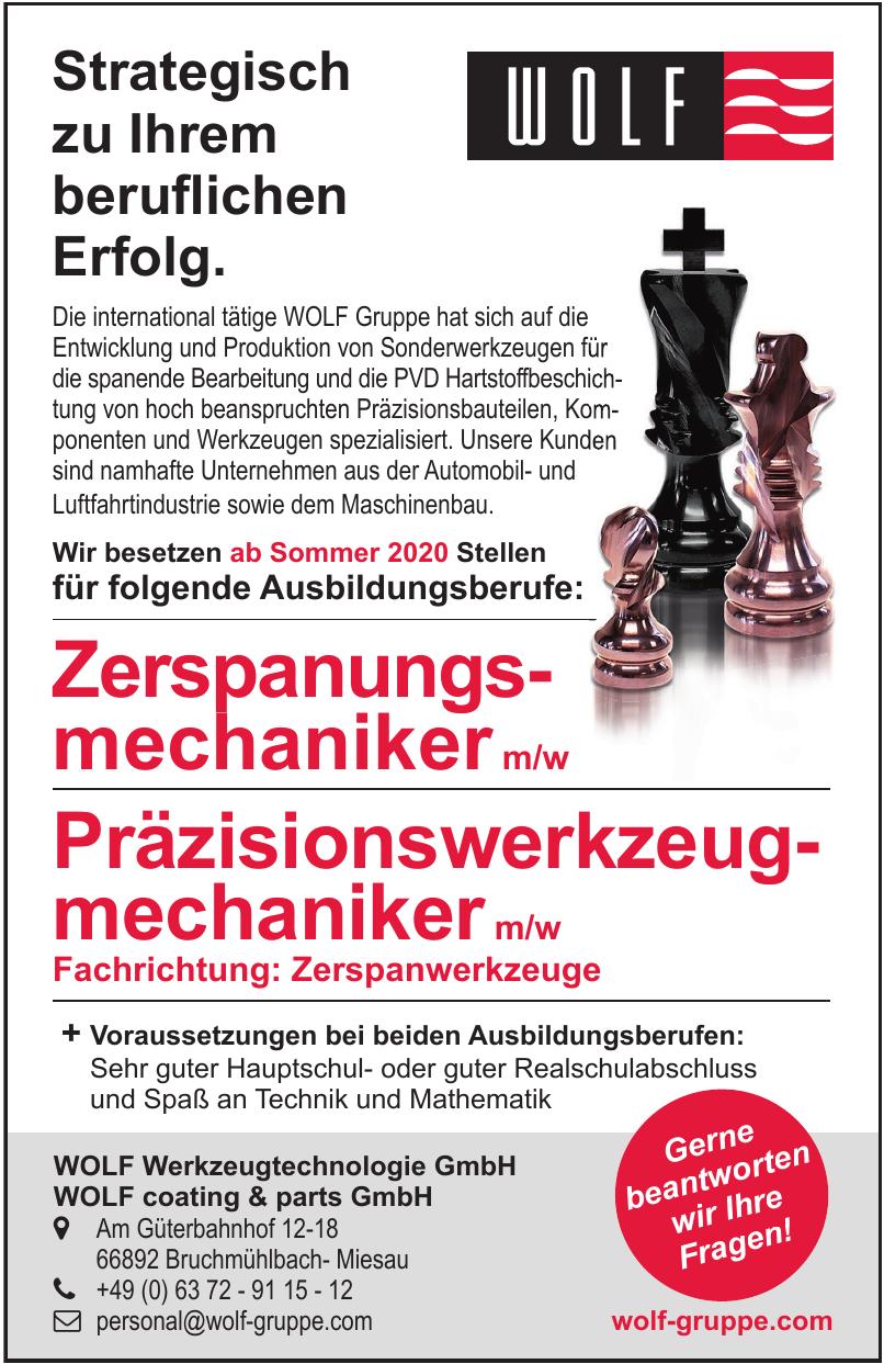 WOLF Werkzeugtechnologie GmbH WOLF coating & parts GmbH