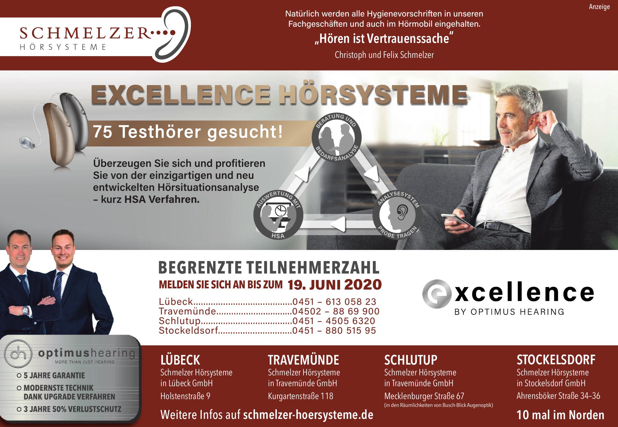 Schmelzer Hörsysteme in Lübeck GmbH
