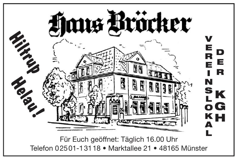 Haus Bröcker
