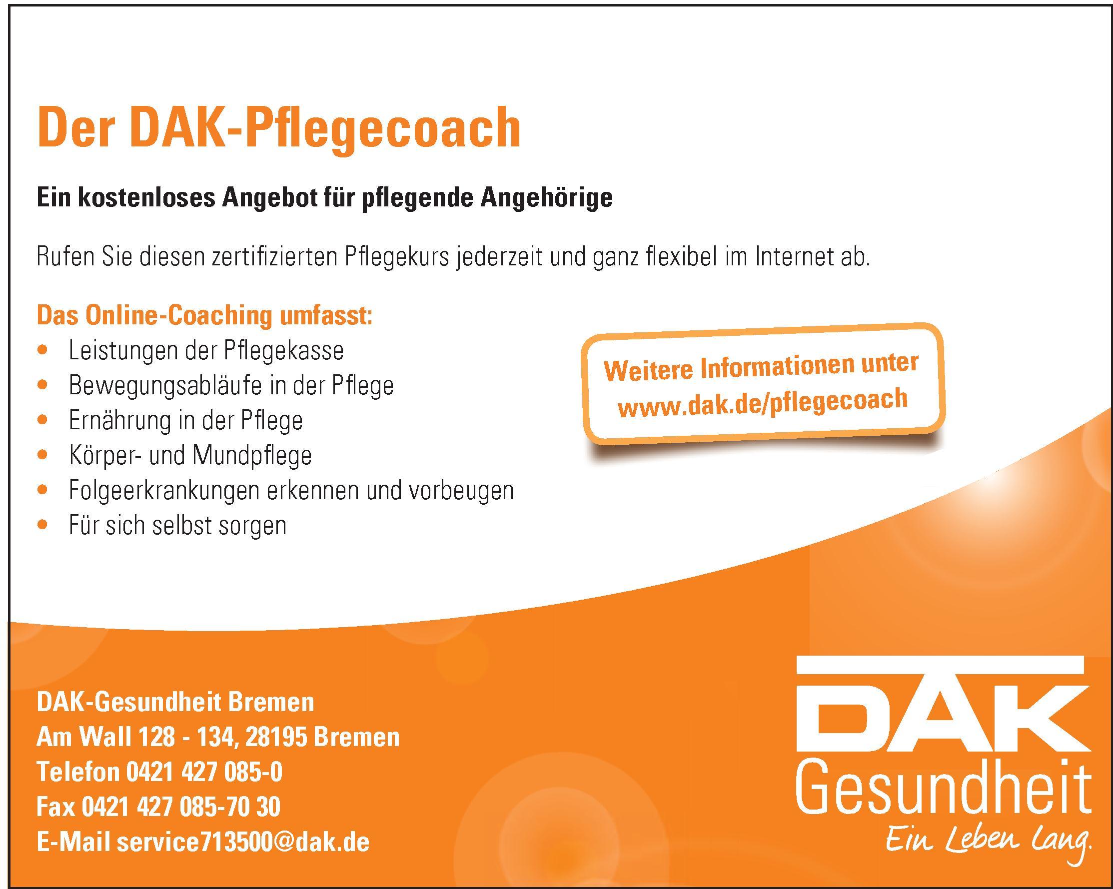 DAK-Gesundheit Bremen