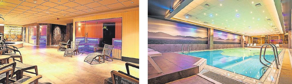 Das Hotel Zuiderduin lädt mit Saunabereich und Schwimmbad zum Entspannen ein.