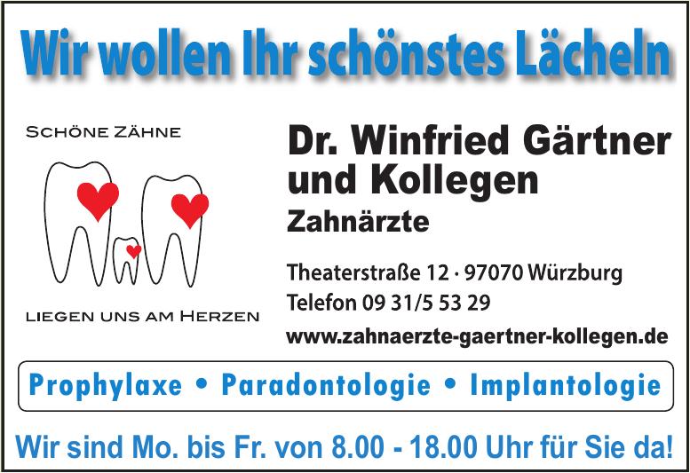 Dr. Winfried Gärtner und Kollegen Zahnärzte