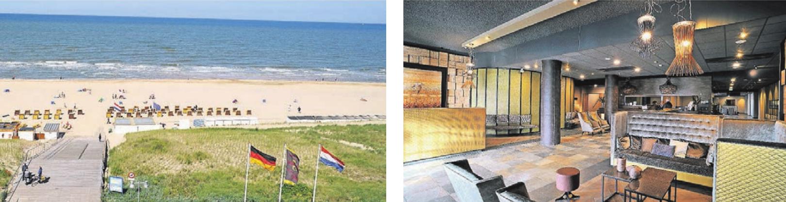 Die Nähe zum Strand zeichnet das Hotel ebenso aus wie ein besonderes Restaurant: Das EAZEE lockt mit Köstlichkeiten. Fotos: Hotel Golfzang