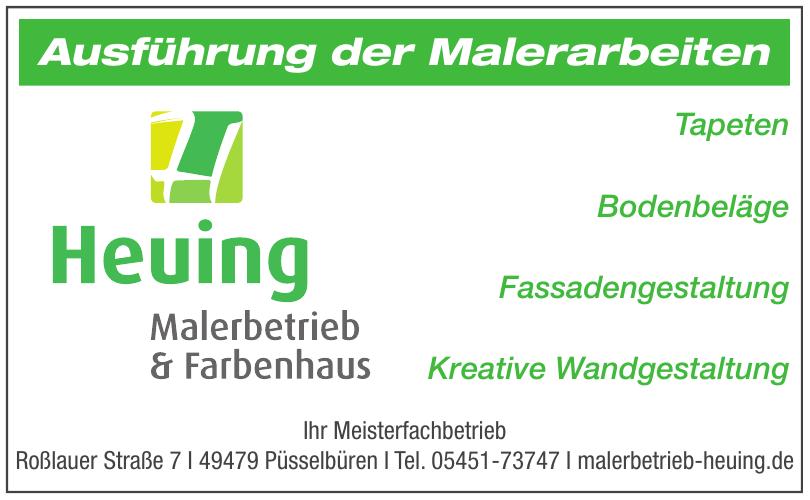 Heuing Malerbetrieb & Farbenhaus