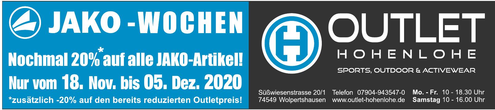 Outlet Hohenlohe