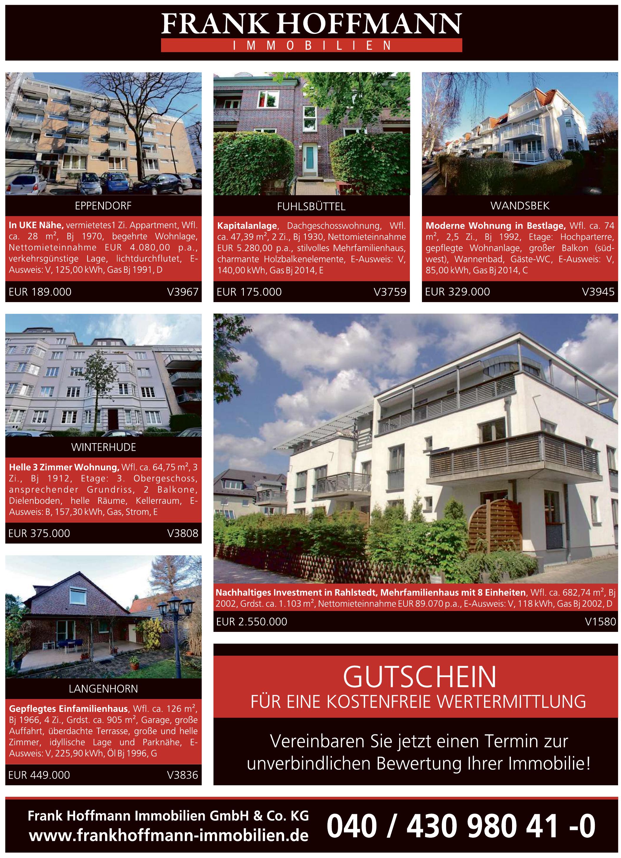 Frank Hoffmann Immobilien GmbH & Co. KG