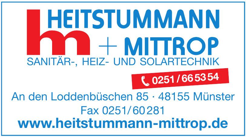 Heitstummann + Mittrop