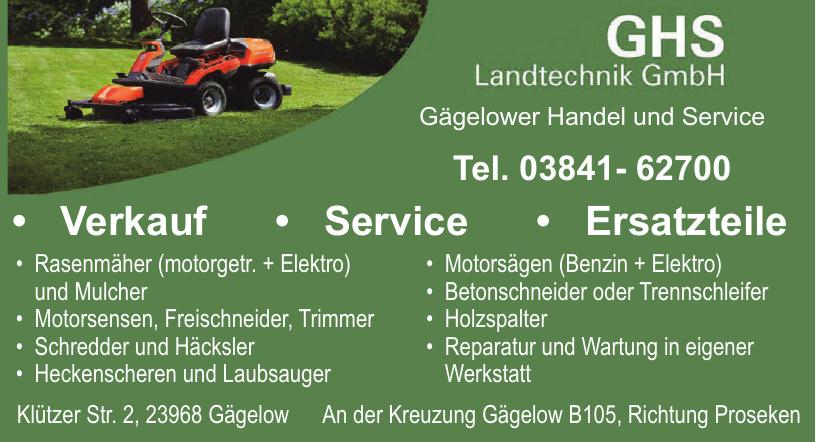 GHS Landtechnik GmbH