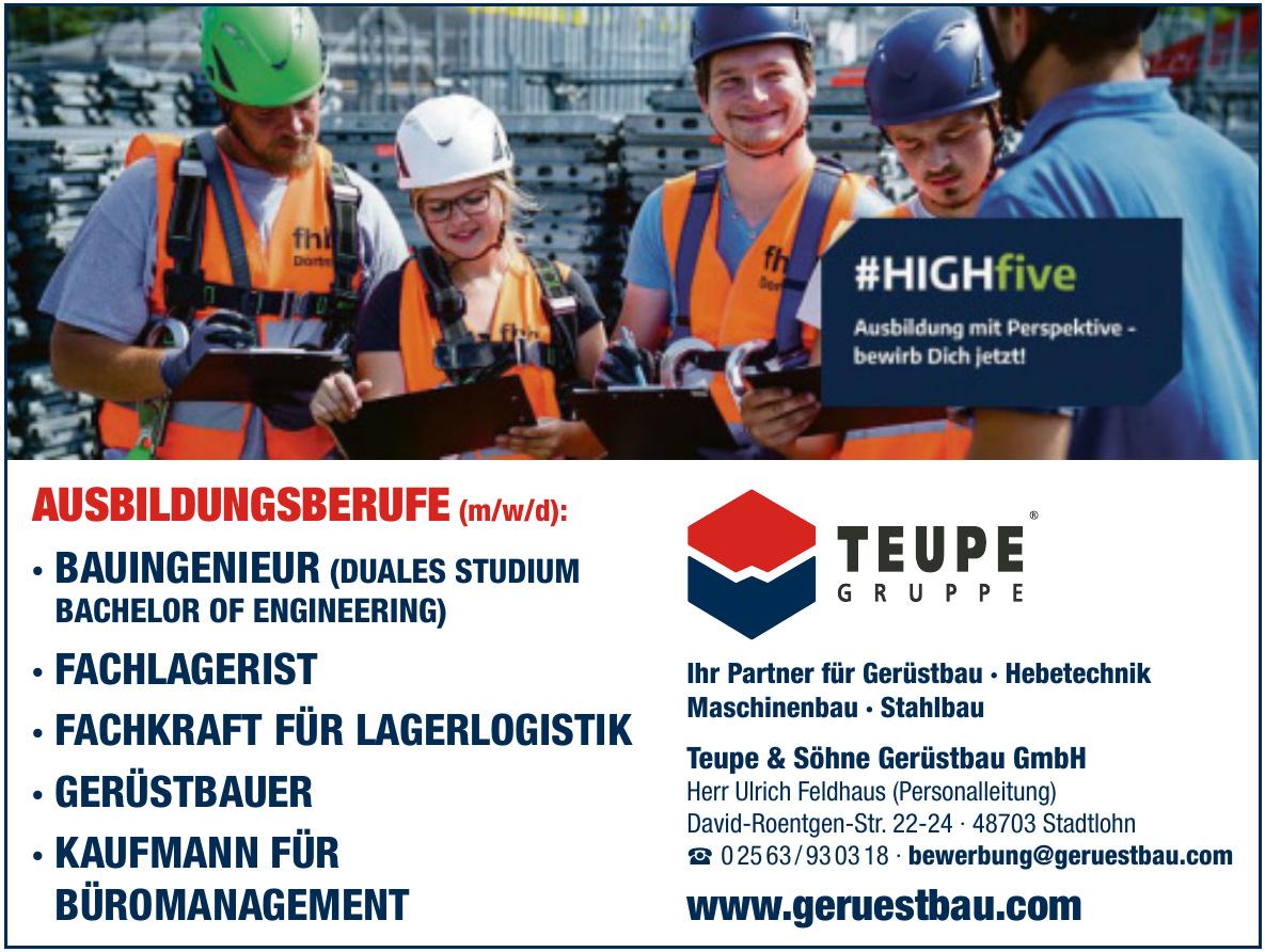 Teupe & Söhne Gerüstbau GmbH