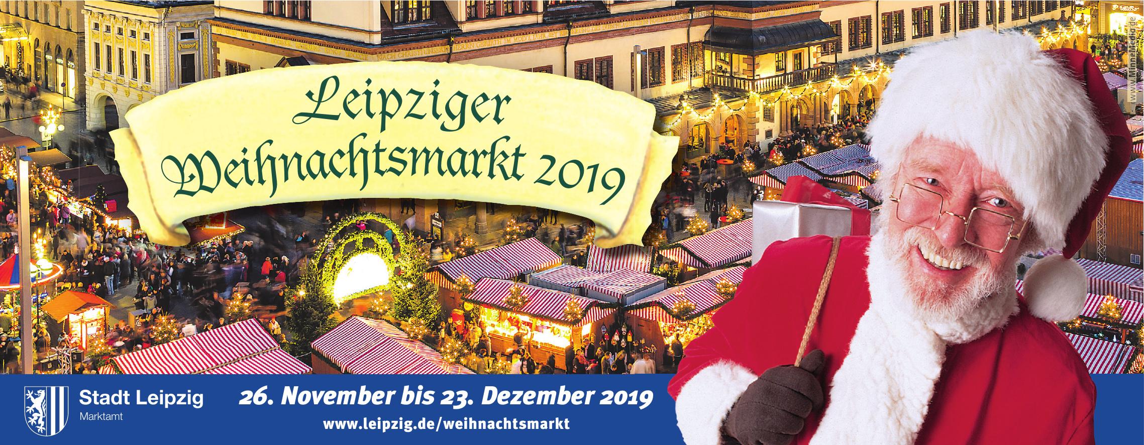 Leipziger Weihnachtsmarkt 2019
