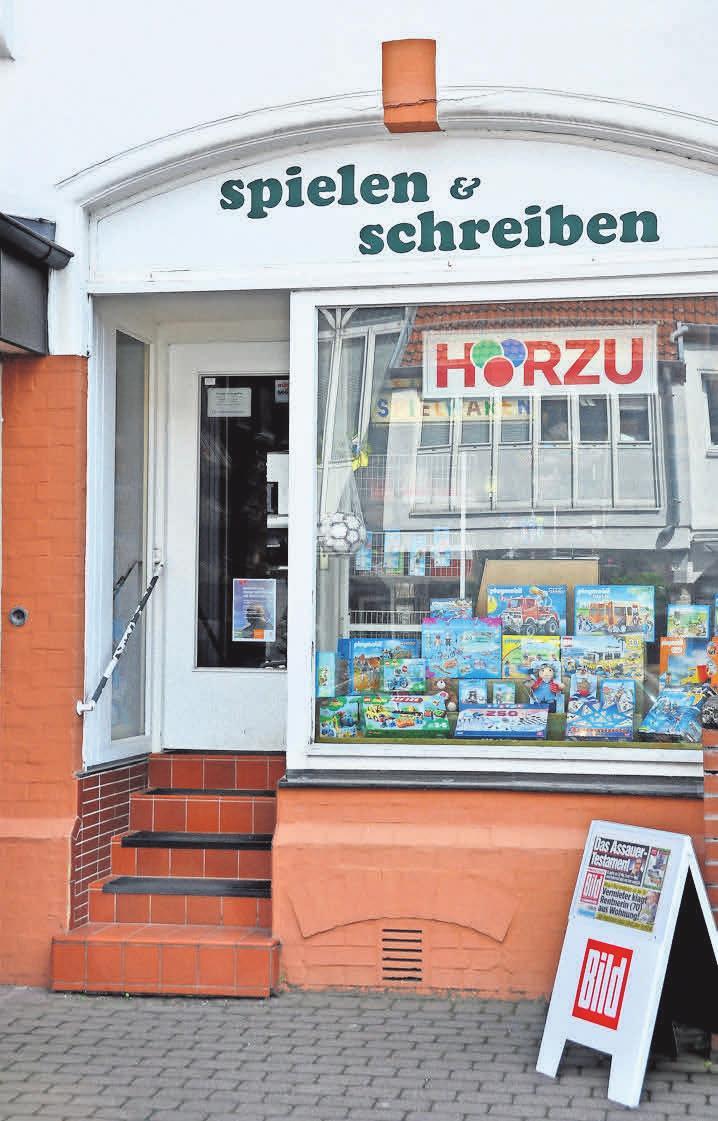 Etwas versteckt an der Straße Großer Hillen in Kirchrode liegt das nostalgische Fachgeschäft.
