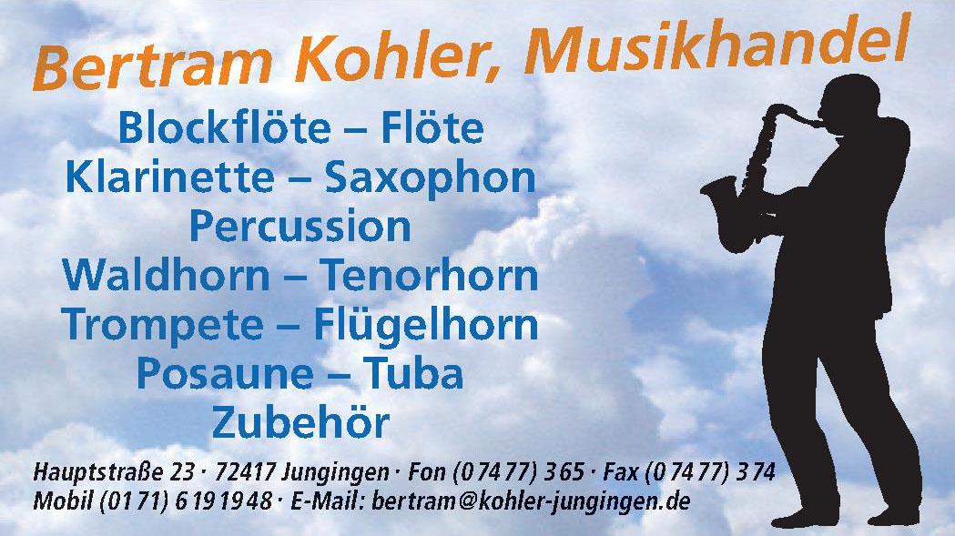 Bertram Kohler, Musikhandel