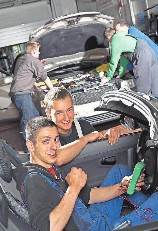 In über 130 Berufen können Jugendliche im Handwerk eigene Talente entfalten. Foto: Christine Rudolf