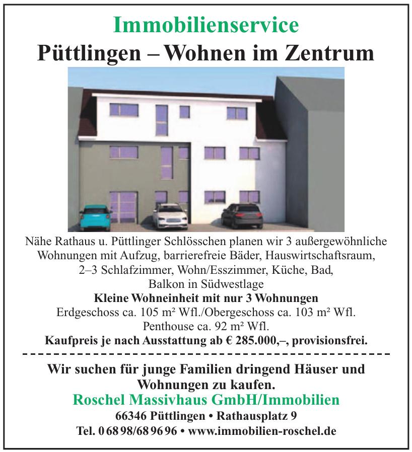 Roschel Massivhaus GbmH/Immobilien