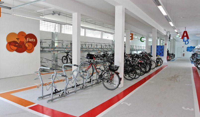 Knapp 300 Räder finden im neuen Radexpress Platz.