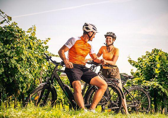 Mit dem Fahrrad sieht man Orte, die einem im Auto oder Zug meist verborgen bleiben.Foto: NÖ Werbung/Robert Herbst