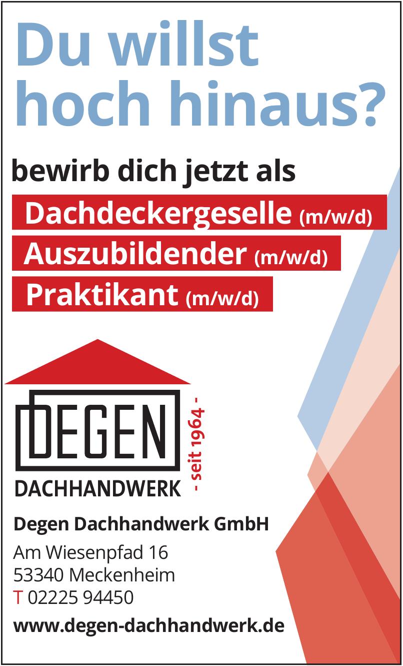 Degen Dachhandwerk GmbH