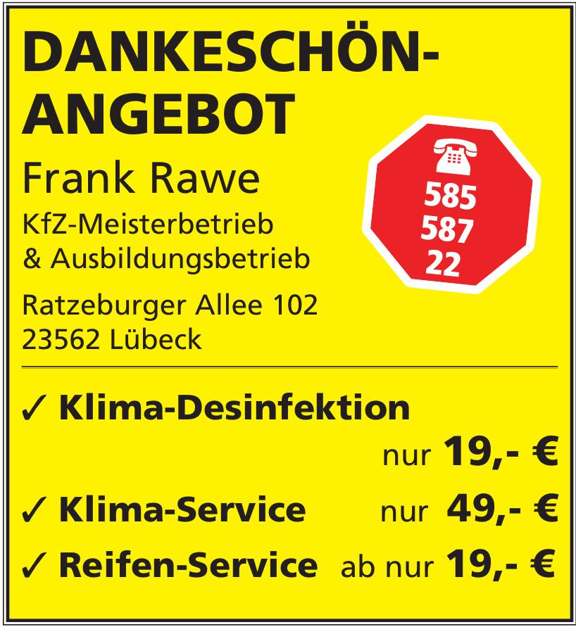 KFZ-Meisterbetrieb Frank Rawe
