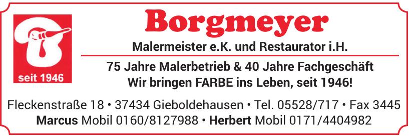 Borgmeyer Malermeister e.K. und Restaurator i.H.