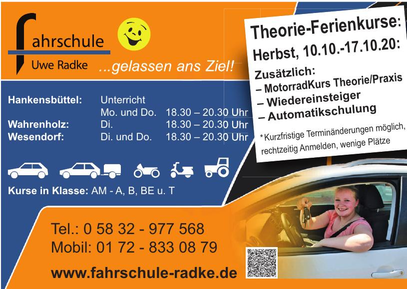 Fahrschule Uwe Radke
