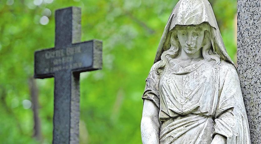 Ist der Friedhof außer Mode gekommen?
