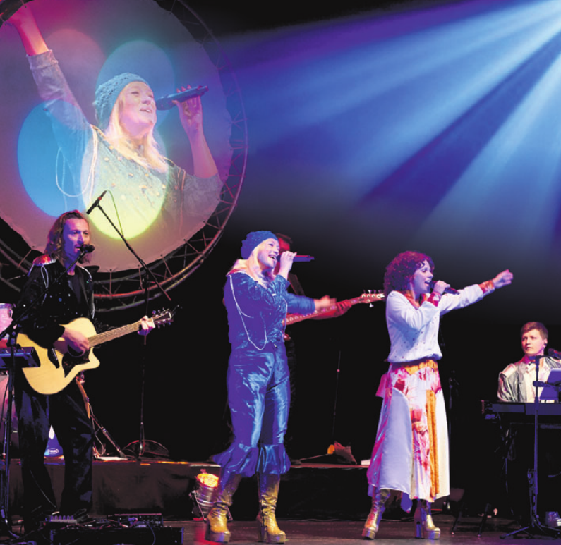"Revivalkonzert mit ""Super Abba – a tribute to Abba"" im Congresspark."