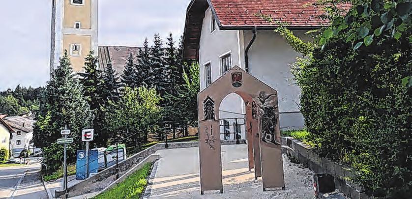 Das Schmugglerportal in Geiersberg