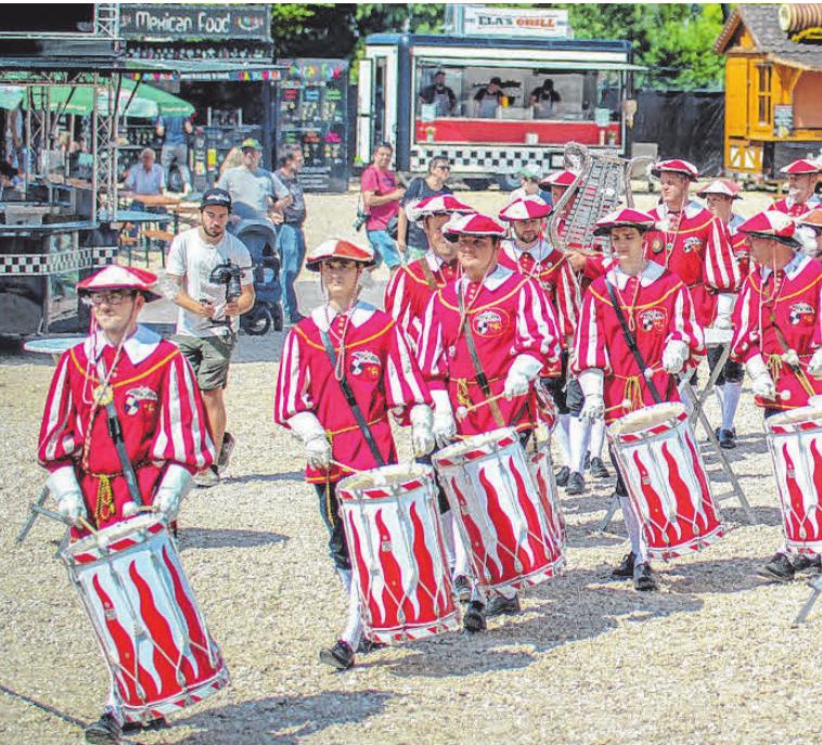 Der Fanfarenzug Sigmaringen ist am Sonntag ab 14 Uhr dran ...
