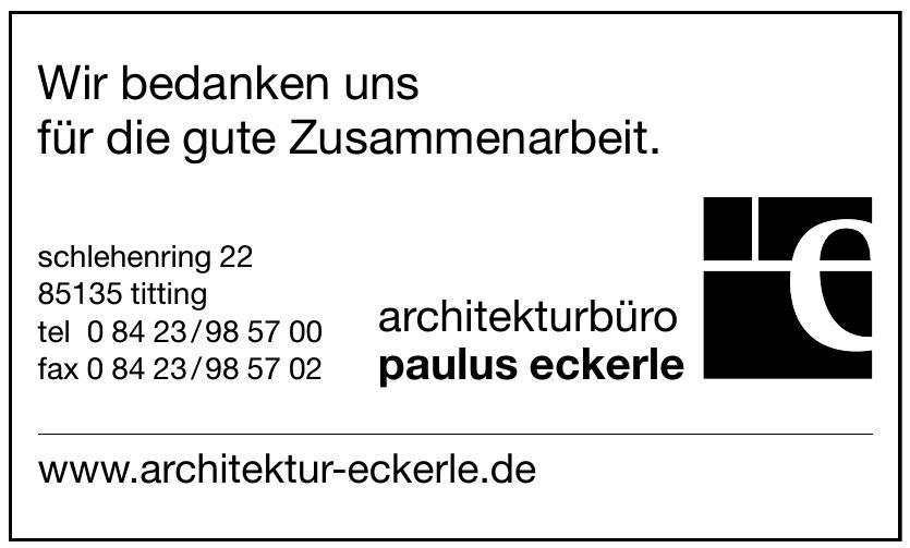 architekturbüro paulus eckerle
