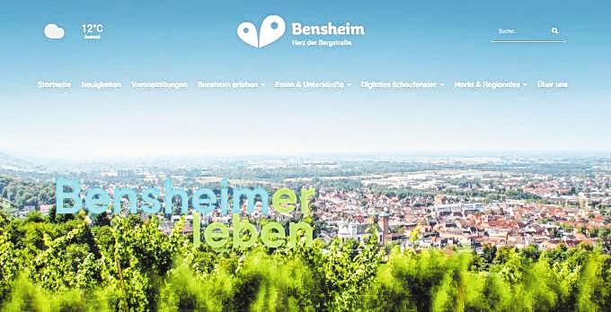 """Freizeit-Tipps und mehr: Die neue Webseite """"bensheimerleben.de"""" ist seit Kurzem online."""