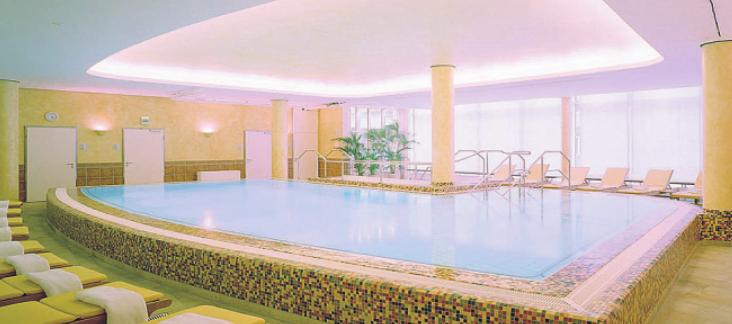 Wellness, Fitness und alles für die Gesundheit auf mehr als 1.000 Quadratmetern Bild: Premium-Residenz