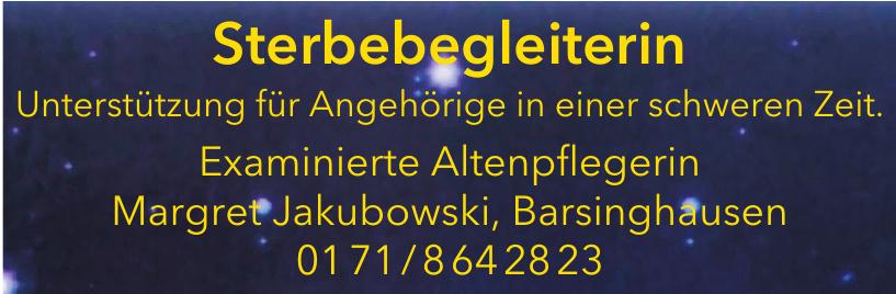 Sterbebegleiterin - Margret Jakubowski