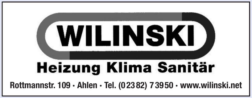 Wilinski Heizung Klima Sanitär