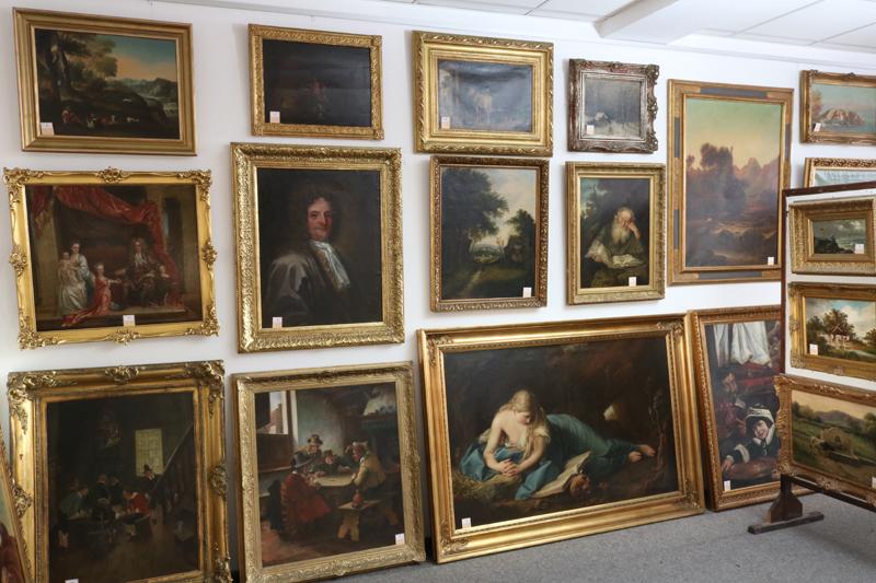 Rund 200 Gemälde aus privater Sammlung. Foto: Auktionshaus Meyer