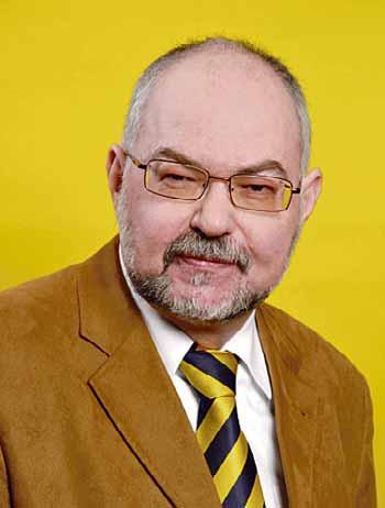 Manfred Bähr, Vorstandsvorsitzender der Volksbank Dessau-Anhalt Foto: (C)2007 Fotowerkstatt Michael Voigt