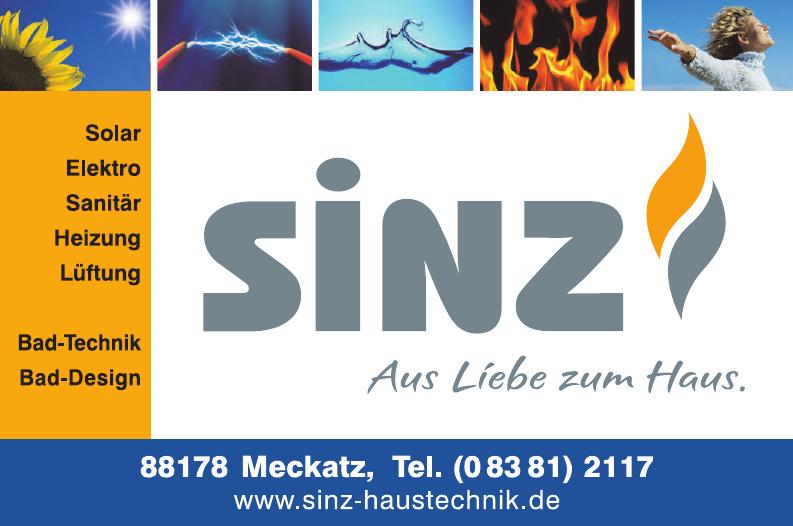 Sinz Haustechnik GmbH & Co. KG
