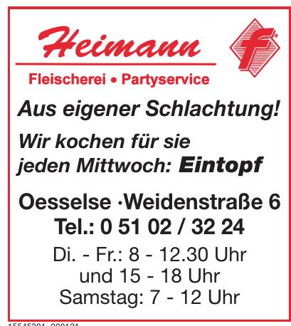 Heimann Fleischerei Partyservice