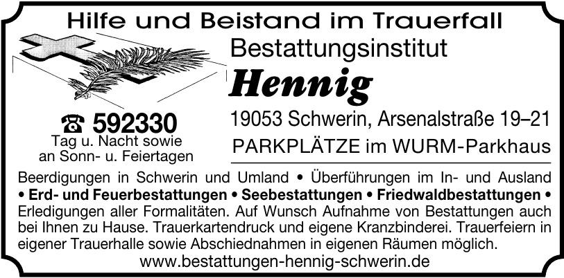 Bestattungsinstitut Hennig