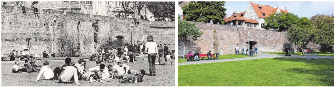 Schulfrei? Auf zur Donauwiese! Das galt schon in den 70er-Jahren und hat bis heute nichts an Aktualität eingebüßt.