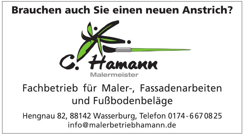 C. Hamann Malermeister
