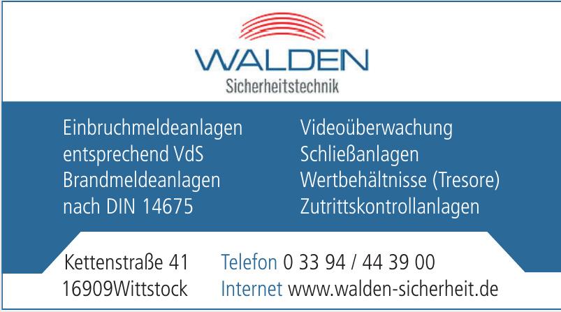Walden Sicherheitstechnik