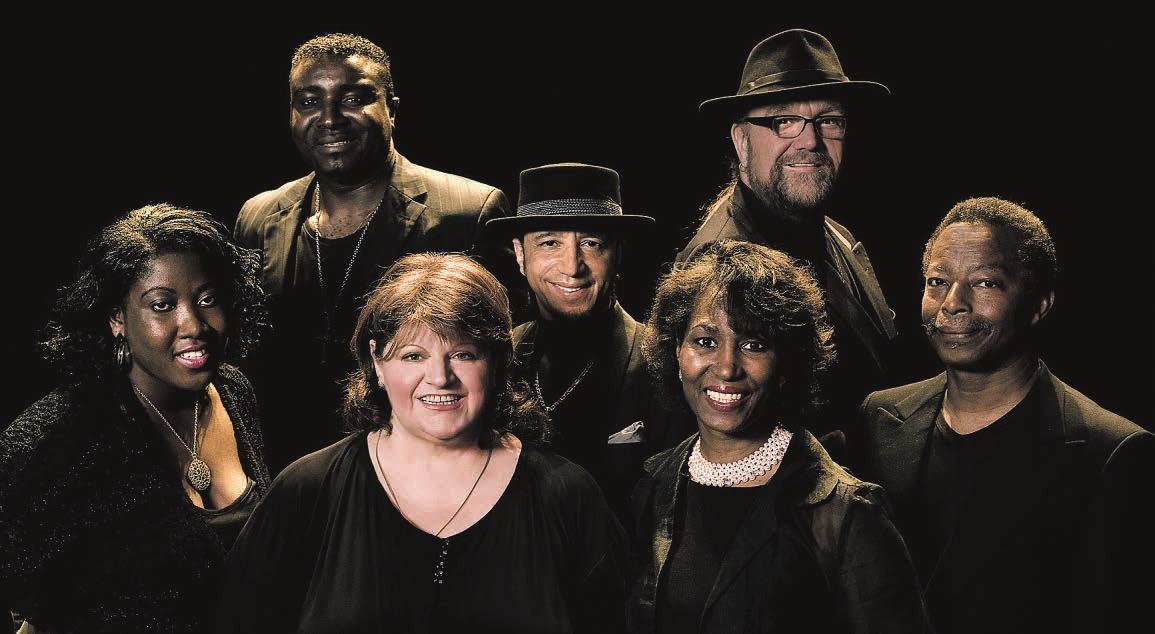 Gern gesehener Gast in Hamburg: Big Mama und ihre Gospel-Gruppe