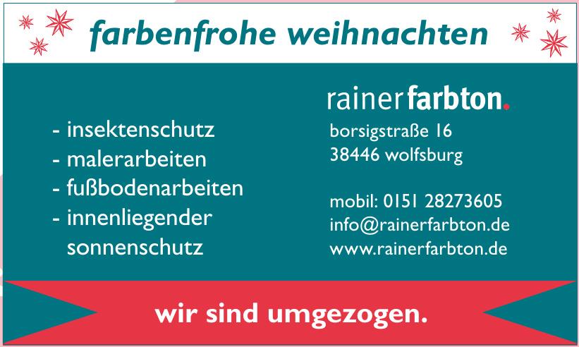 Rainer Farbton
