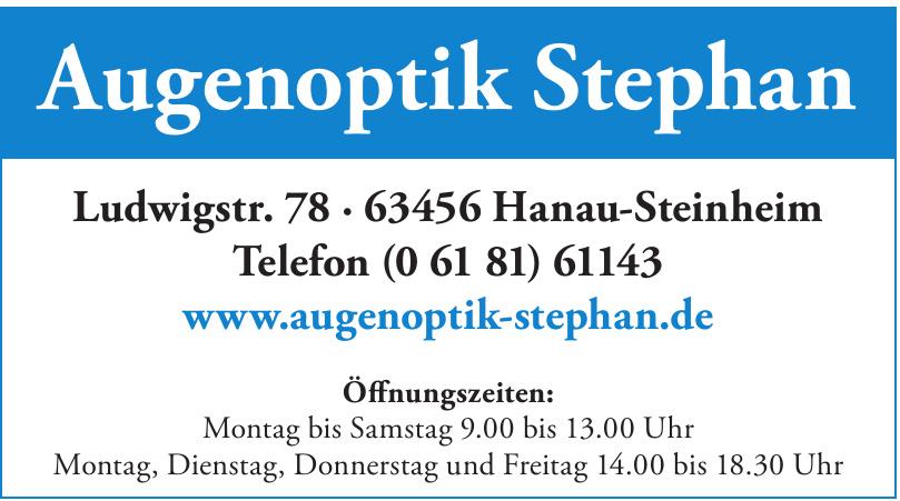 Augenoptik Stephan