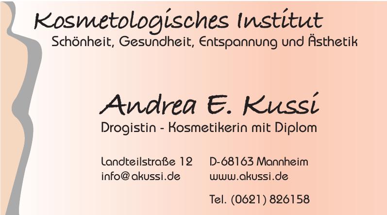 Andrea E. Kussi