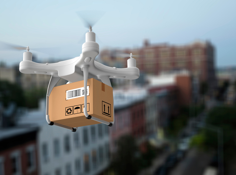Post per Drohne? Logistik und Infrastruktur für diesen Zustellweg sind anspruchsvoll.