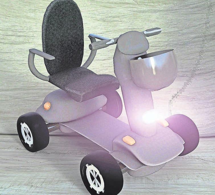 Mit diesem Fahrzeug haben körperlich eingeschränkte und pflegebedürftige Menschen die Möglichkeit, weiterhin mobil zu bleiben. Die Kosten können in einigen Fällen die Krankenkassen übernehmen. Foto: Pixabay.com