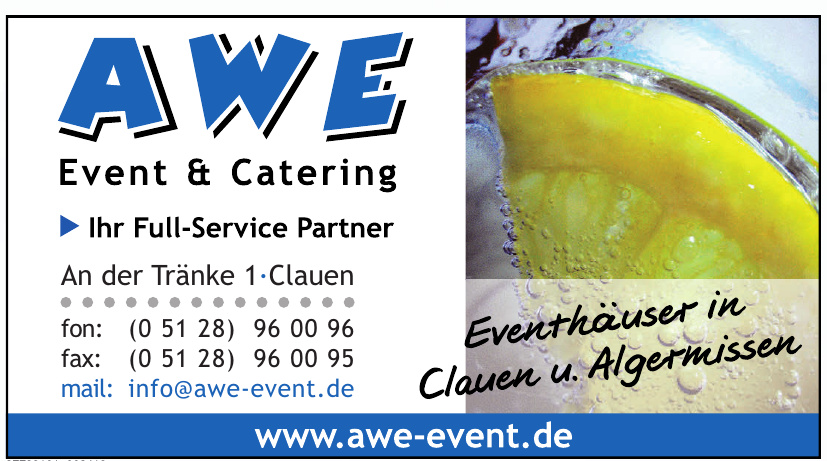 AWE Event & Catering